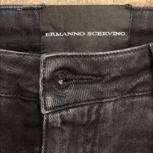 Ermanno Scervino Jeans - Ermanno Scervino gray distressed beaded snake 38XS